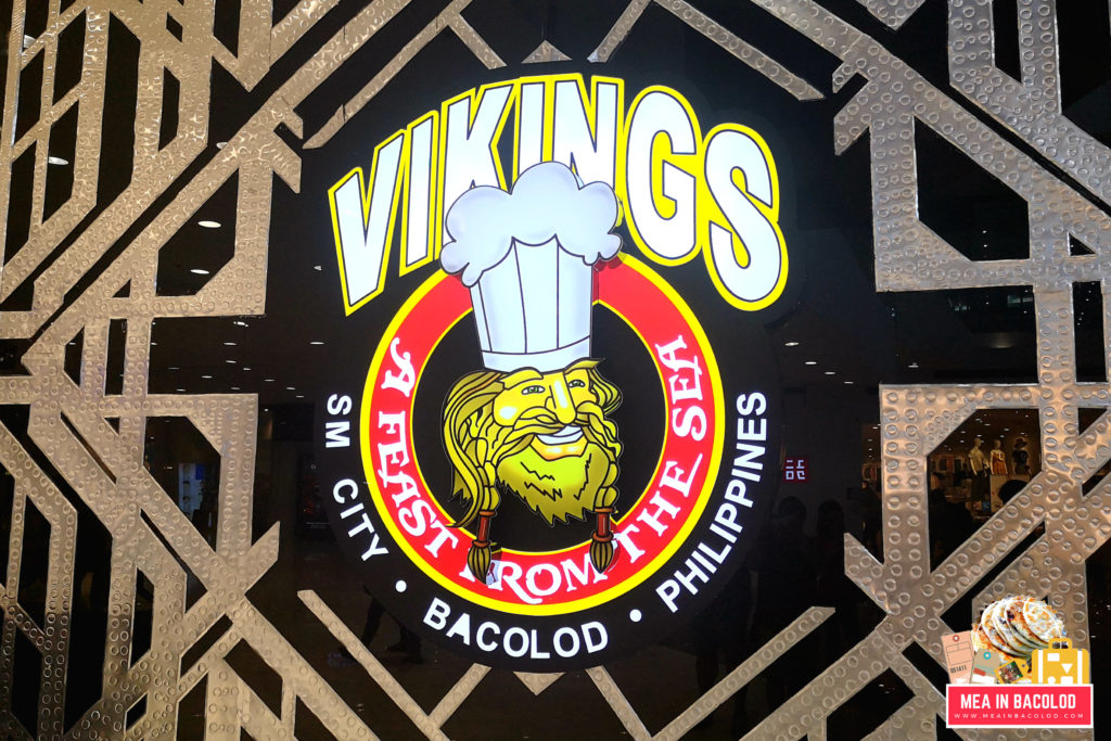 Vikings Luxury Buffet Bacolod - Updated Logo