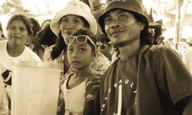 Agos Ram Pump Technician and his Family