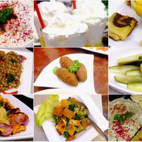 Jericho Lebanese Food Menu