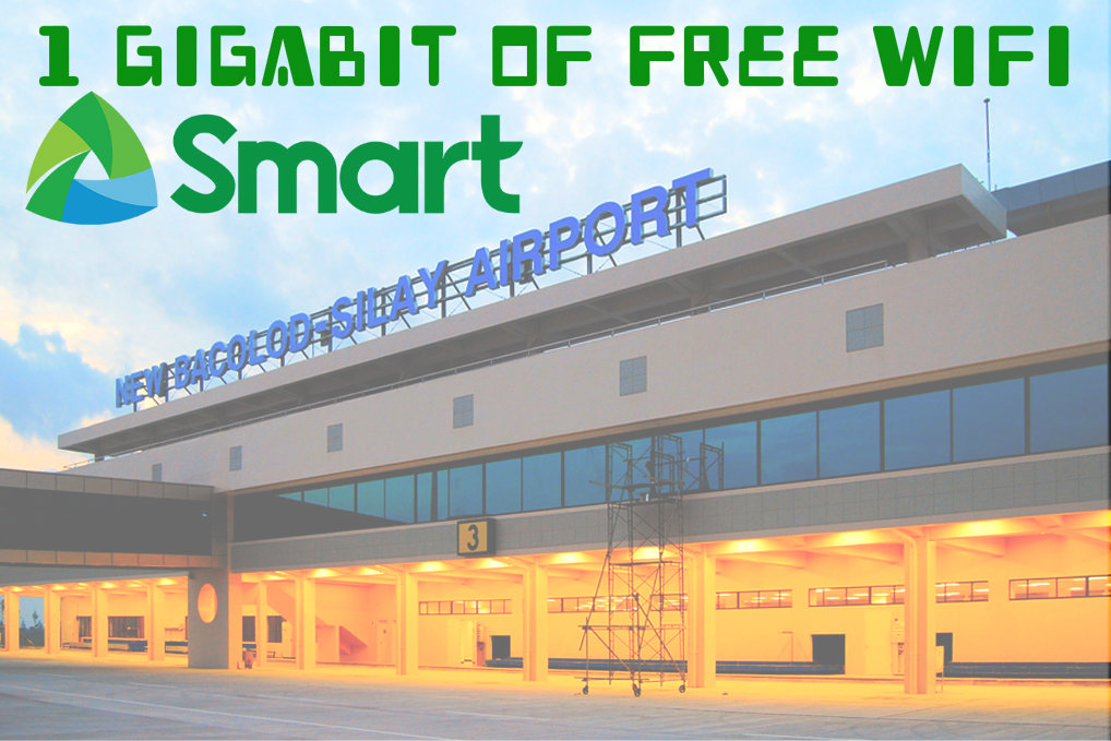 Bacolod Silay Airport Free Wifi by Smart