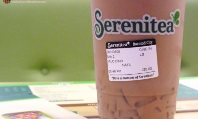 New Milk Tea Place in Bacolod - Serenitea is Here