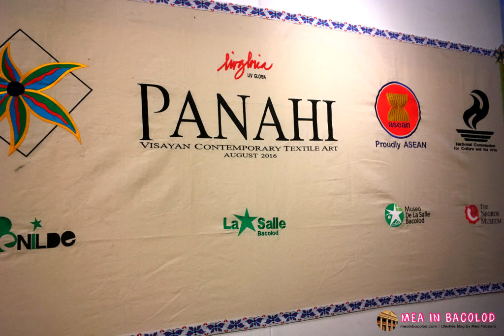 Panahi Textile Art Exhibit at the Negros Museum