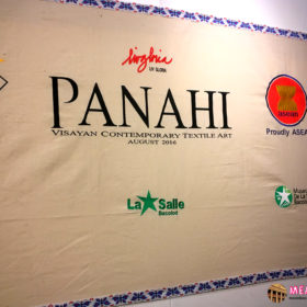 Panahi Textile Art Exhibit at the Negros Museum