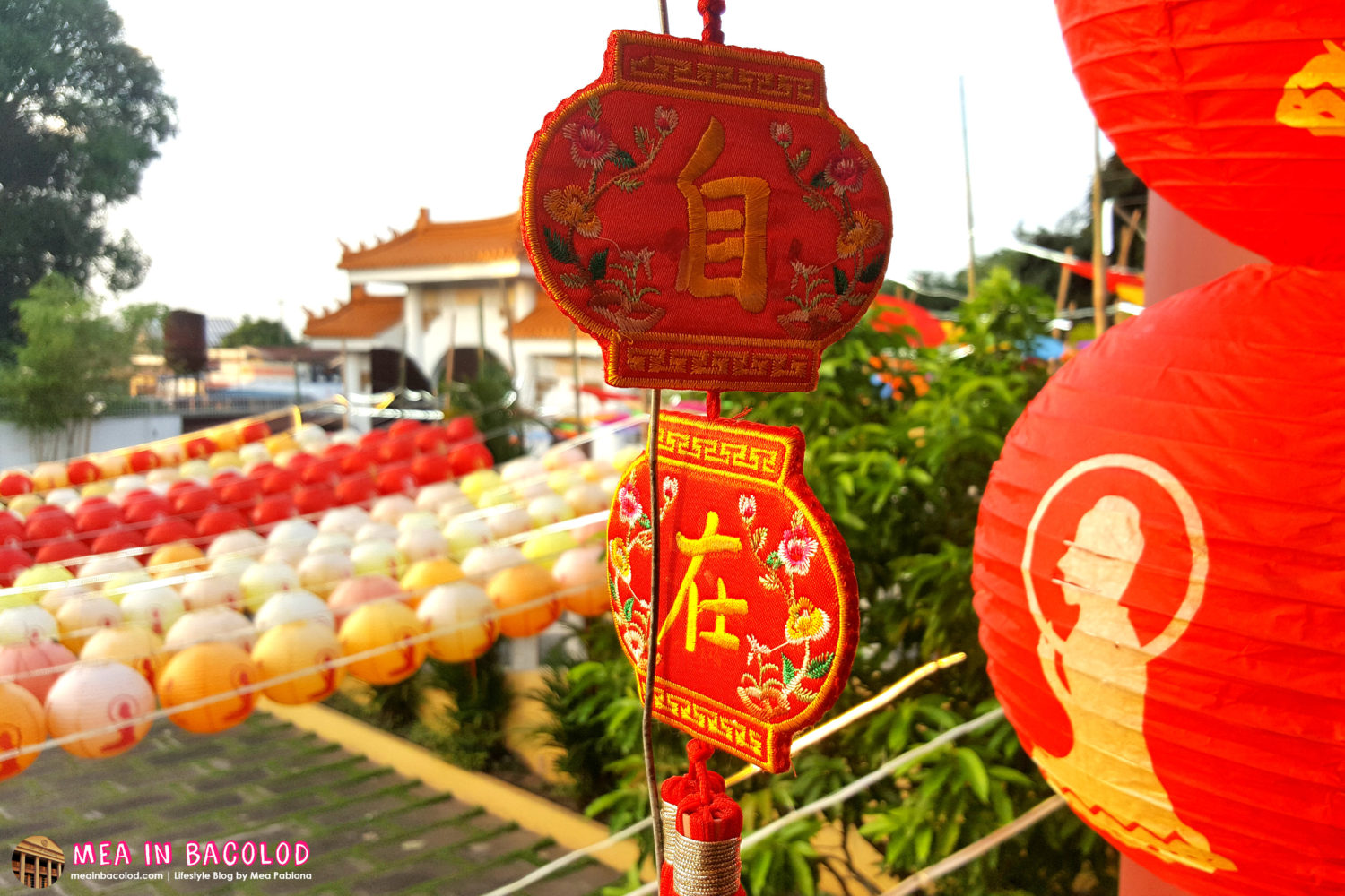 Spend Chinese New Year in the Yuan Thong Temple Bacolod | Mea in Bacolod