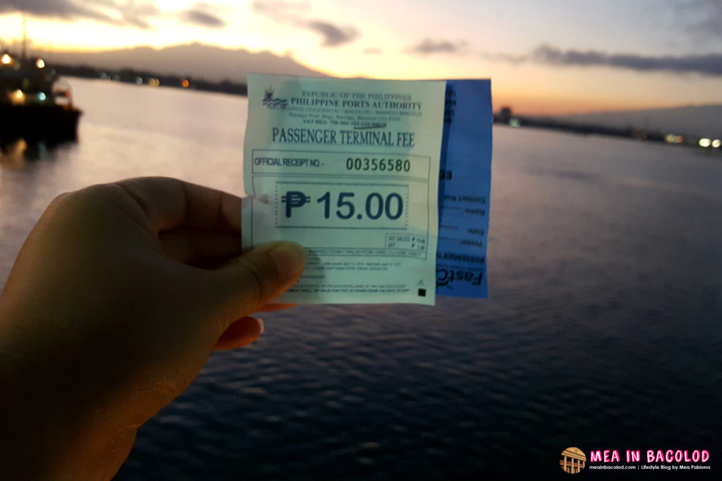 How to Get from Bacolod to Iloilo on a Budget | Terminal Fee