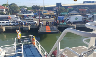 How to Get from Bacolod to Iloilo on a Budget | Almost time to disembark.