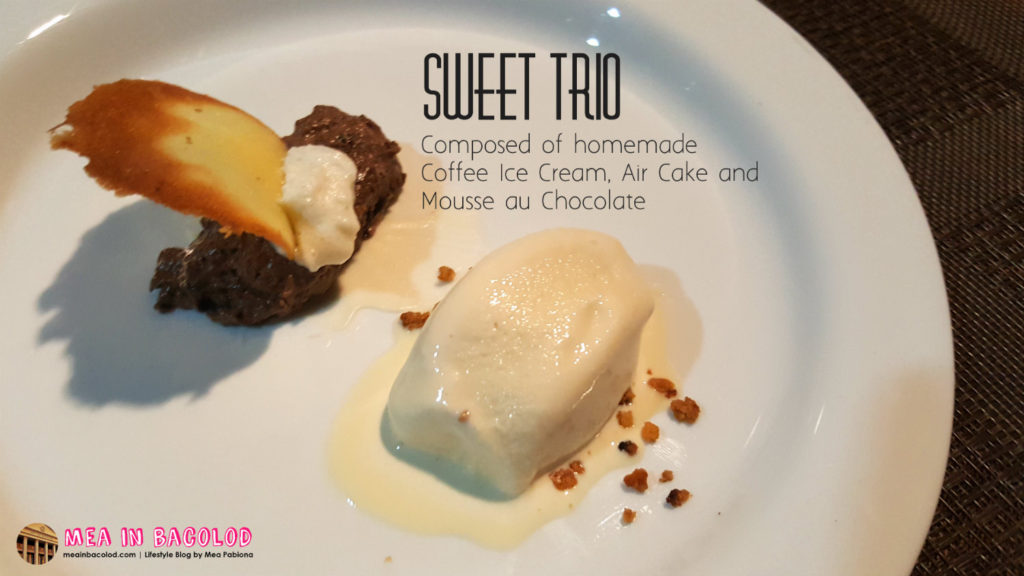 Bacolod Academy for Culinary Arts - Menu 7: Sweet Trio| Mea in Bacolod