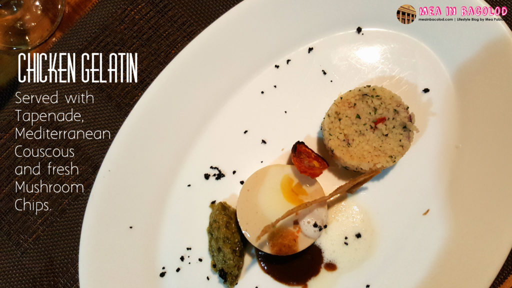 Bacolod Academy for Culinary Arts - Menu 4: Chicken Gelatin   Mea in Bacolod