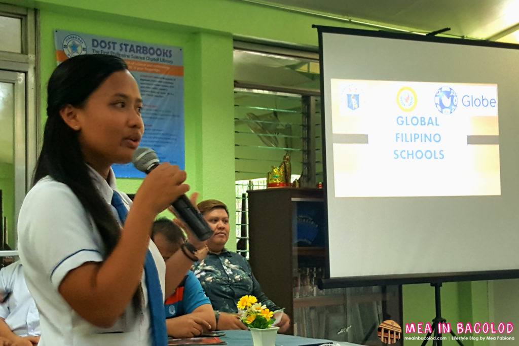 A Student of Cebu City National Science High School Sharing the Effects of Global Filipino School Program