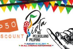 Pista ng Pelikulang Pilipino Discount with Globe