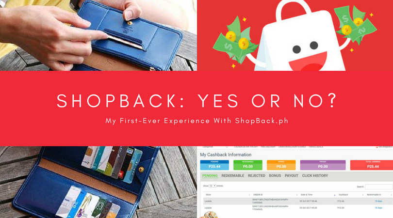 My First ShopBack Experience | Mea in Bacolod