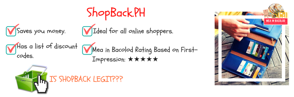 Overview of My ShopBack First Impression | Mea in Bacolod