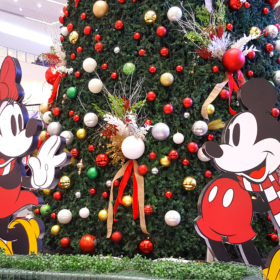 SM City Bacolod Christmas Tree Display 2017 - Disney Christmas