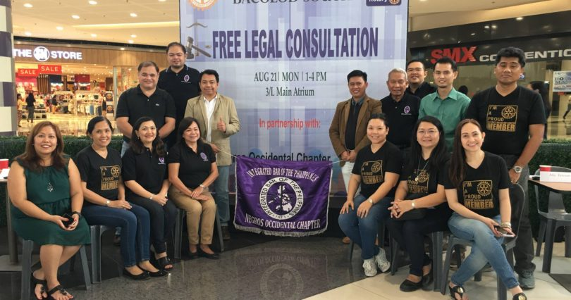 Rotary Club Of Bacolod South - Free Legal Consultation