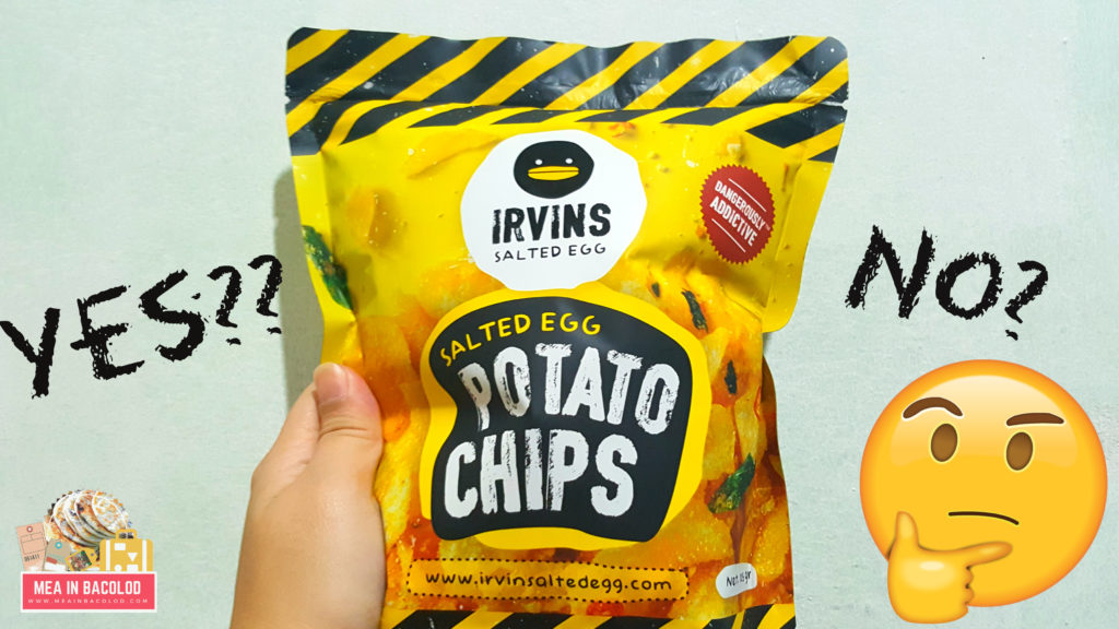 Irvins Salted Egg Potato Chips - Taste Review