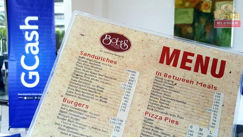 Bob's Restaurant Bacolod | Mea in Bacolod