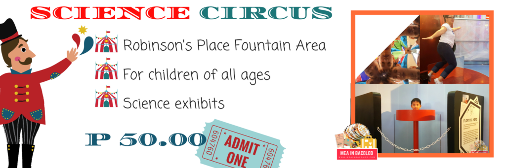 The Science Circus At Robinson's Place