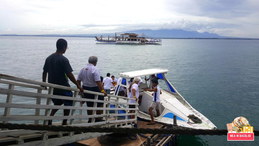 Petron Best Day: Stop 1 - TawHai Floating Bar, Lakawon Island, Cadiz Viejo