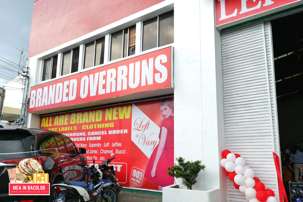 Left To Vary Bacolod Now Open - Mea in Bacolod