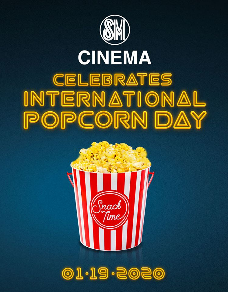 Free Popcorn at SM City Bacolod: National Popcorn Day 2020